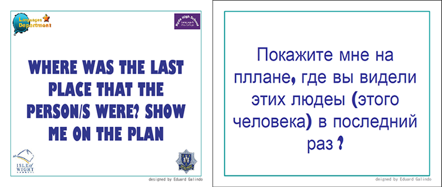 Healthy and Safety flashcards for fire brigade in russian