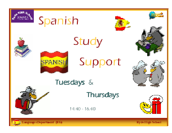 Postcard to promote study day on Saturday