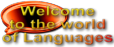 Logo for promoting languages